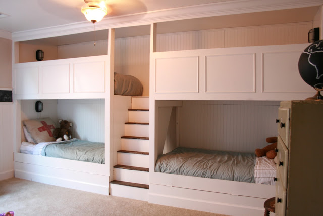 Someday Crafts Wall Of Bunk Beds