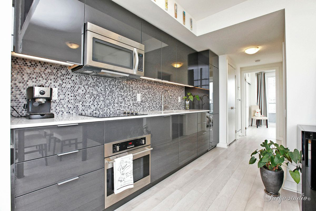 Кухни серого цвета дизайн фото
