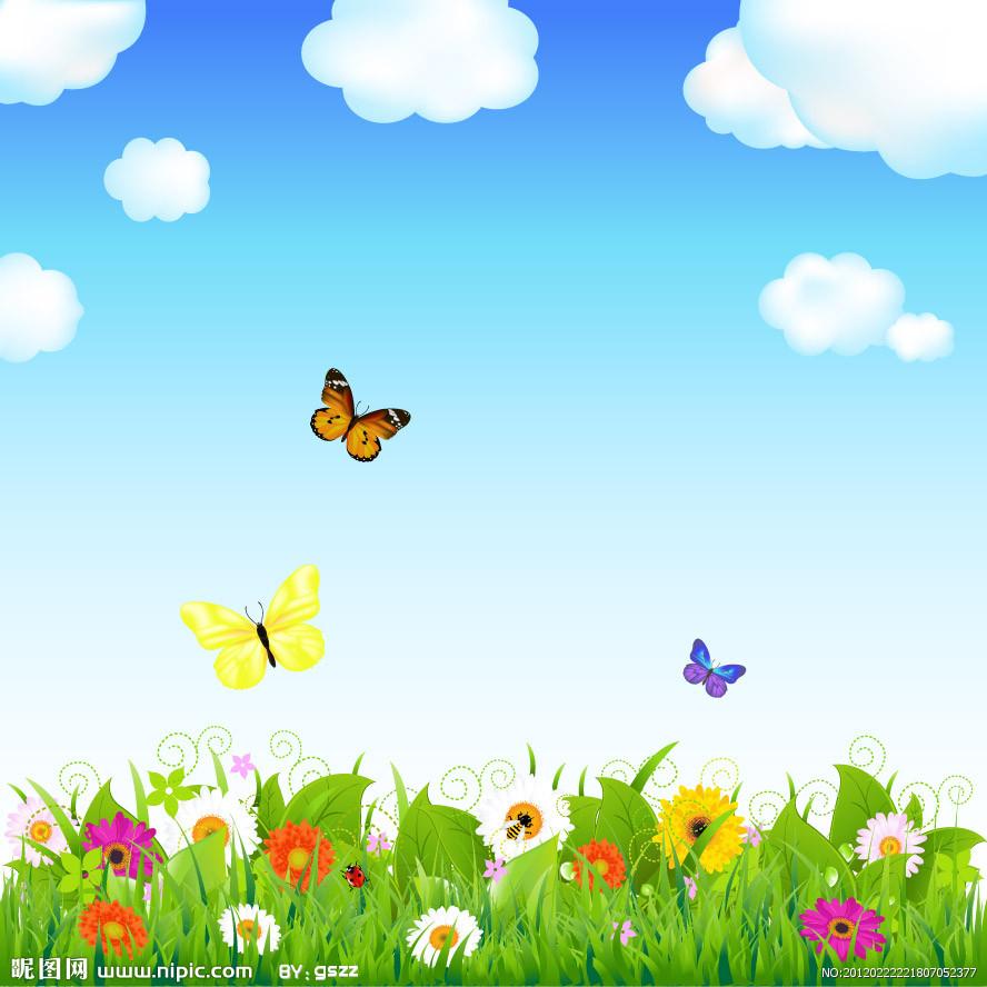 Fondos de flores, mariposas y estrellas(vectores)