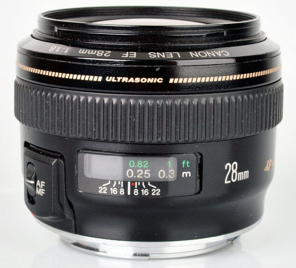 Lensa Canon EF 28mm f/1.8 USM Harga Spesifikasi Terbaru