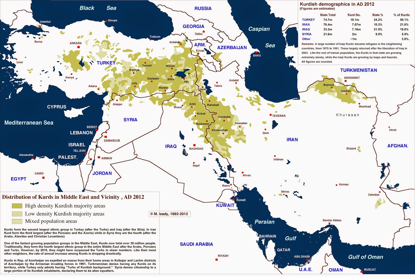 map of kurdish populations throughout syria iraq iran and turkey