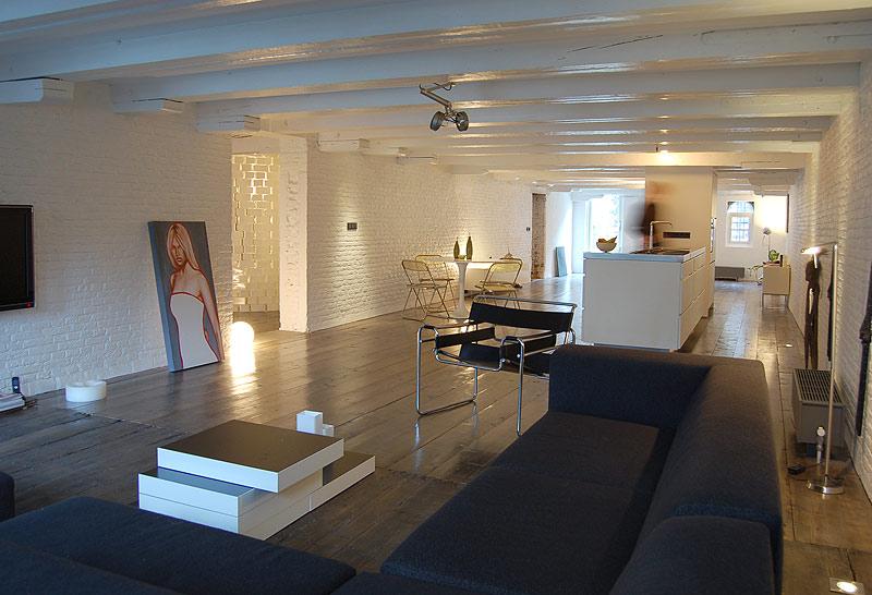 Vivir en paralelo en un loft de cube architecten dise o - Loft decoracion interiores ...