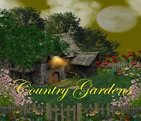 Country Gardens digital fantasy backgrounds