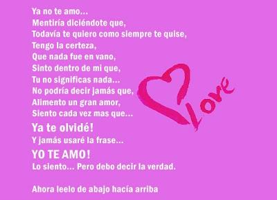 Imagenes de amor para facebook: Te amo.