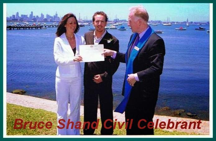 Bruce Shand Civil Celebrant