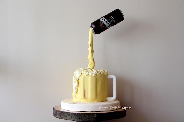 bomonti beer cake