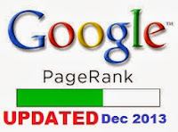 Google PageRank Update as of December 6, 2013