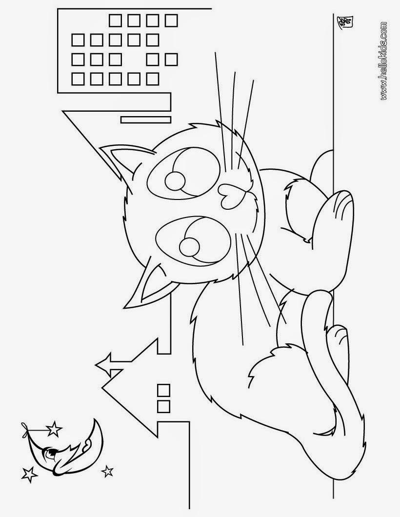 gatinhos - desenhos para colorir