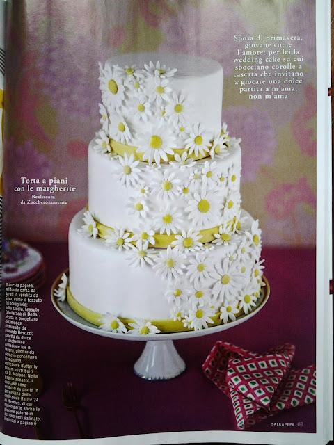 Zuccherosamente la mia torta per sale e pepe wedding for Piani artistici di 2 piani artistici
