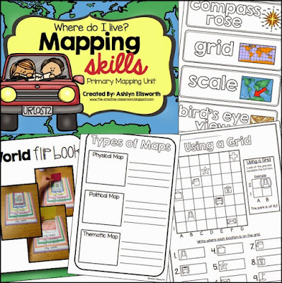 Mapping Skills - Primary Mapping Pack