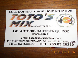 LUZ, SONIDO Y PUBLICIDAD MVIL