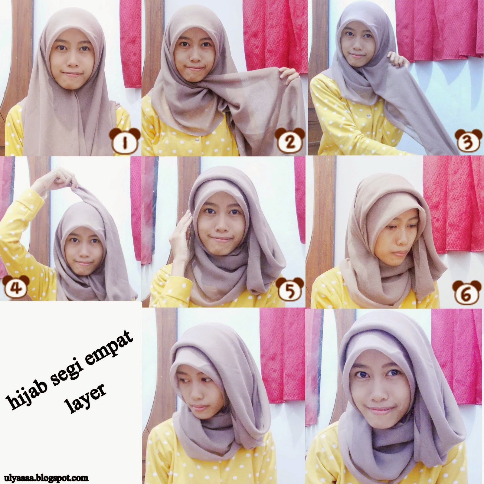 HIJAB is My Crown: HIJAB TUTORIAL ( hijab segi empat layer )