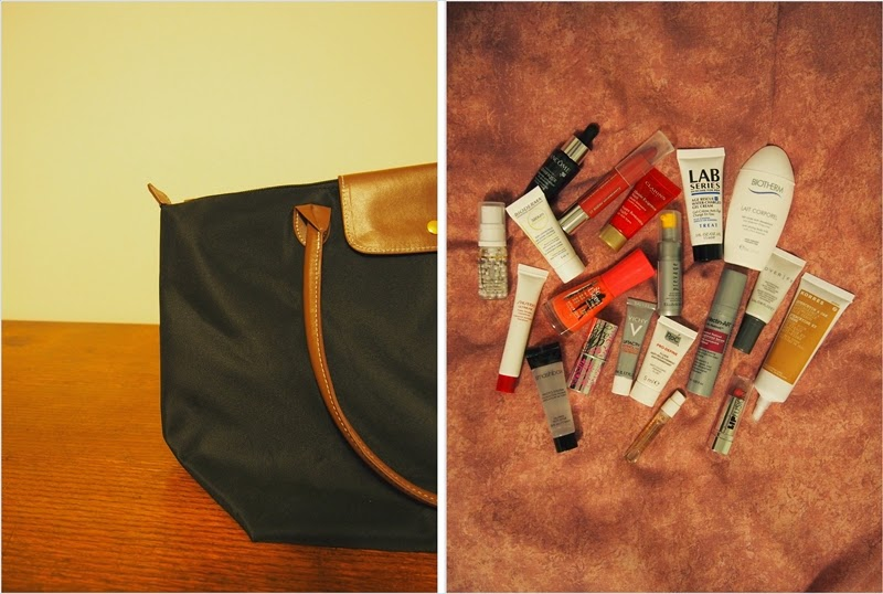 bag and beauty samples