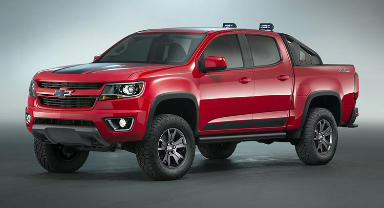chevy gives colorado the z71 trail boss 3 0 treatment at sema car wallpaper gallery. Black Bedroom Furniture Sets. Home Design Ideas