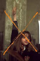 Emma Watson as Hermione Granger in Harry Potter movie