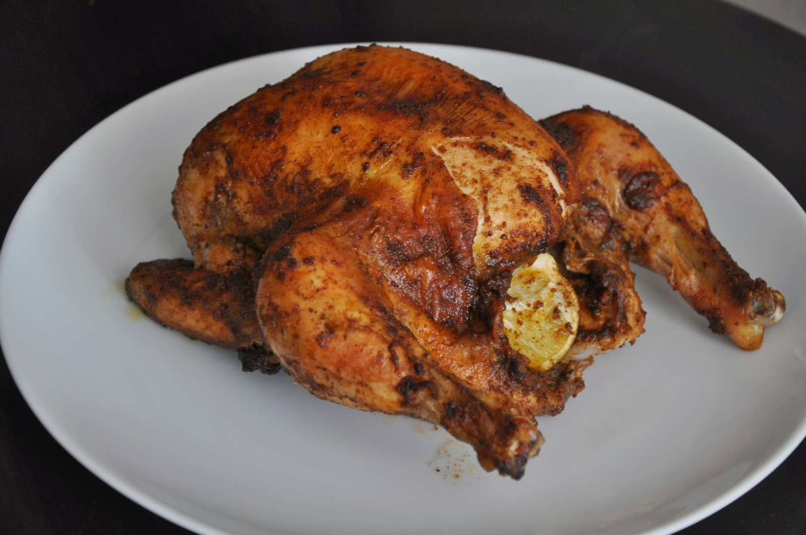 Slice of Rice: Peruvian Roast Chicken with Green Sauce
