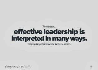 Effective Leadership PPT Slide 1