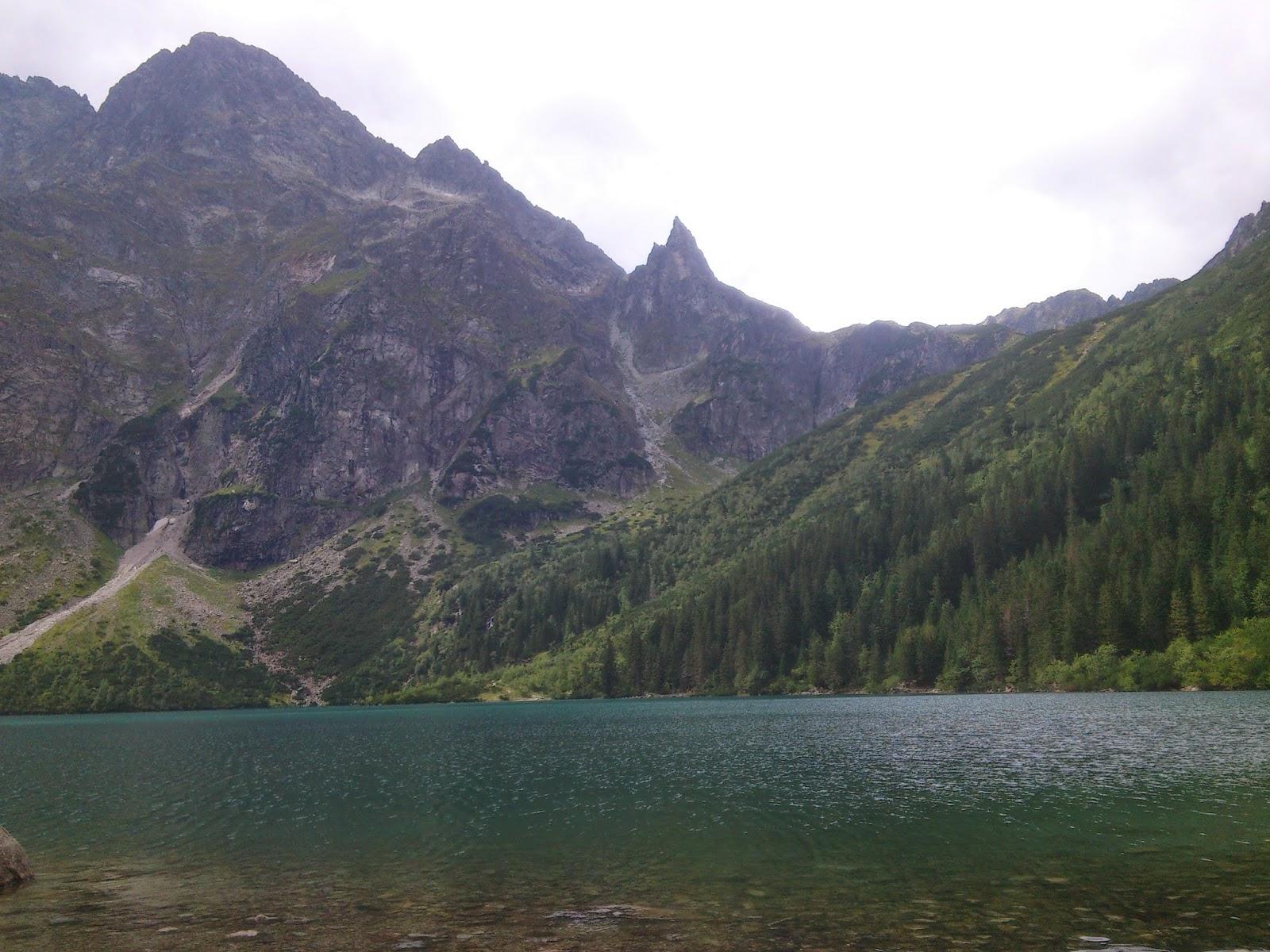 Zakopane Morskie Oko 2014 relacja góry wyprawa wycieczka jezioro tatry tatrzański park narodowy willa u słodkiego karczma oscypek