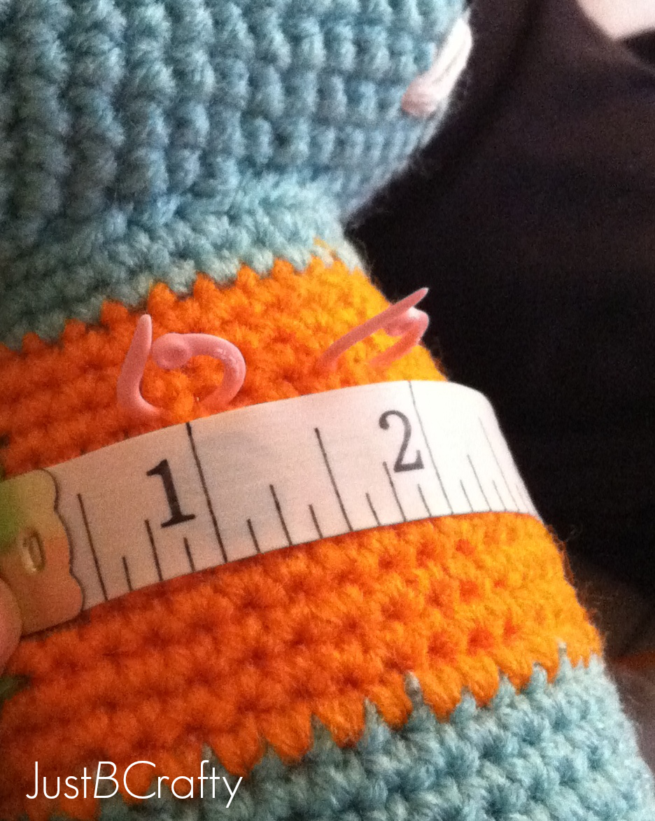 Tips for Attaching Amigurumi Limbs - Just Be Crafty