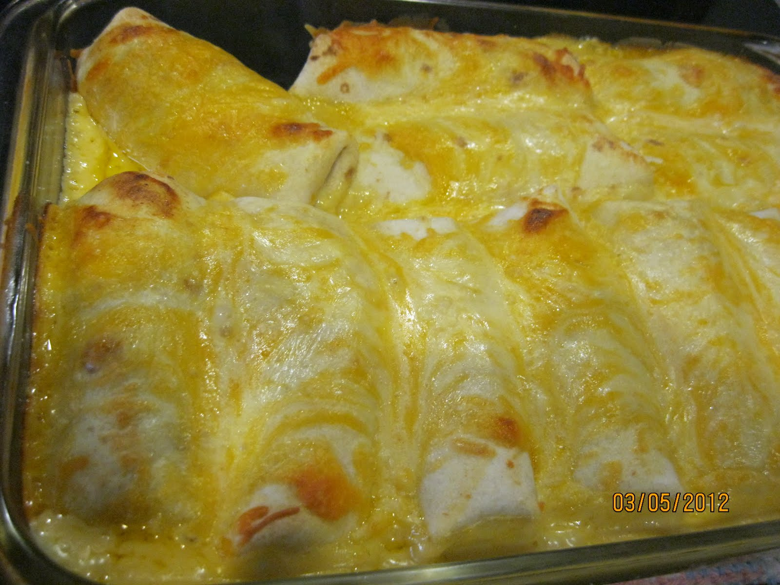 Mormon Mavens in the Kitchen: Creamy Chicken Enchiladas