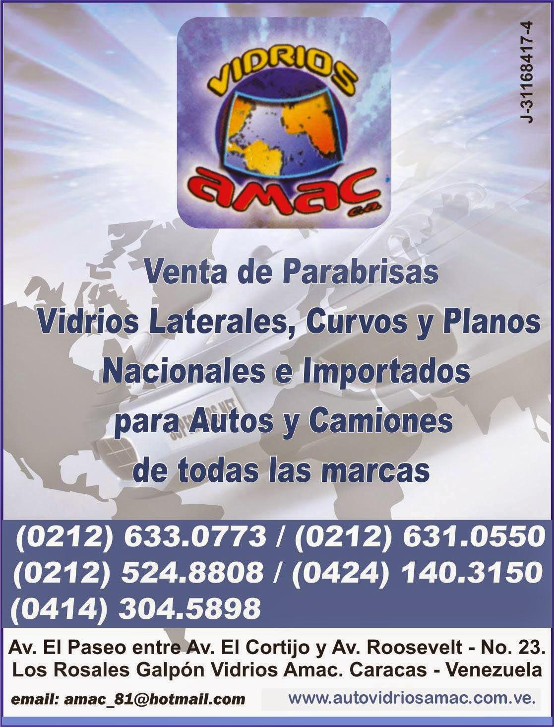 VIDRIOS AMAC en Paginas Amarillas tu guia Comercial