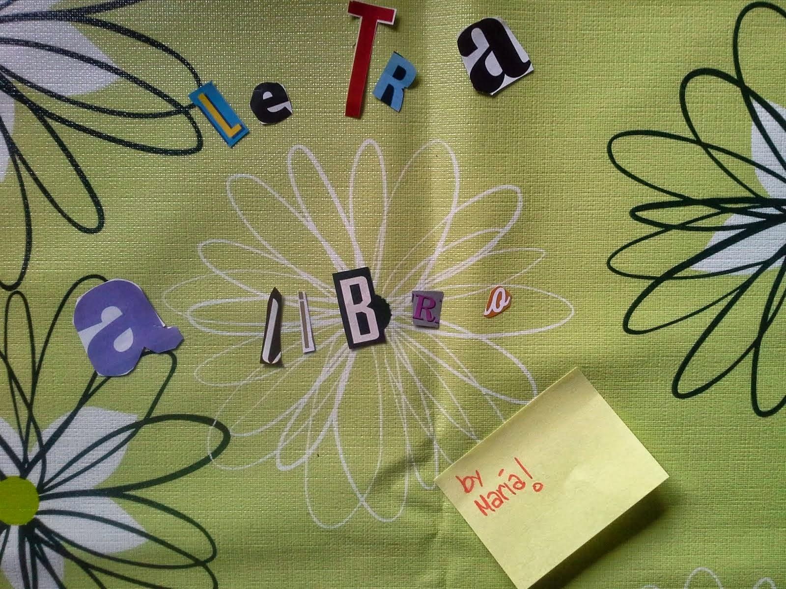 Book tag: Letra a libro