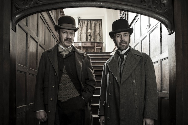 THE SUSPICIONS OF MR WHICHER II, ITV. SHAUN DINGWALL as Inspector George Lock and PADDY CONSIDINE as Jack Whicher