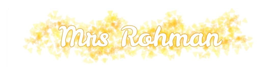 Mrs Rohman