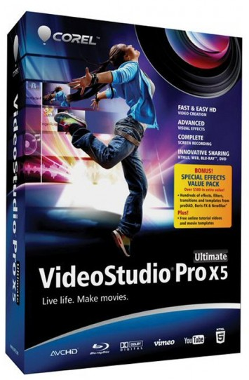 Free Full Software Collection : Corel VideoStudio Pro X5 Ultimate SP1 v15.1.0.34 Download Free ...
