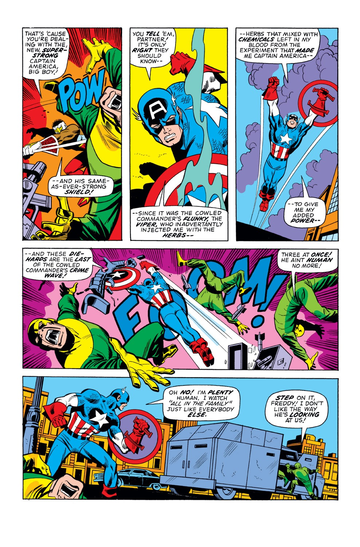 Captain America (1968) Issue #160 #74 - English 3
