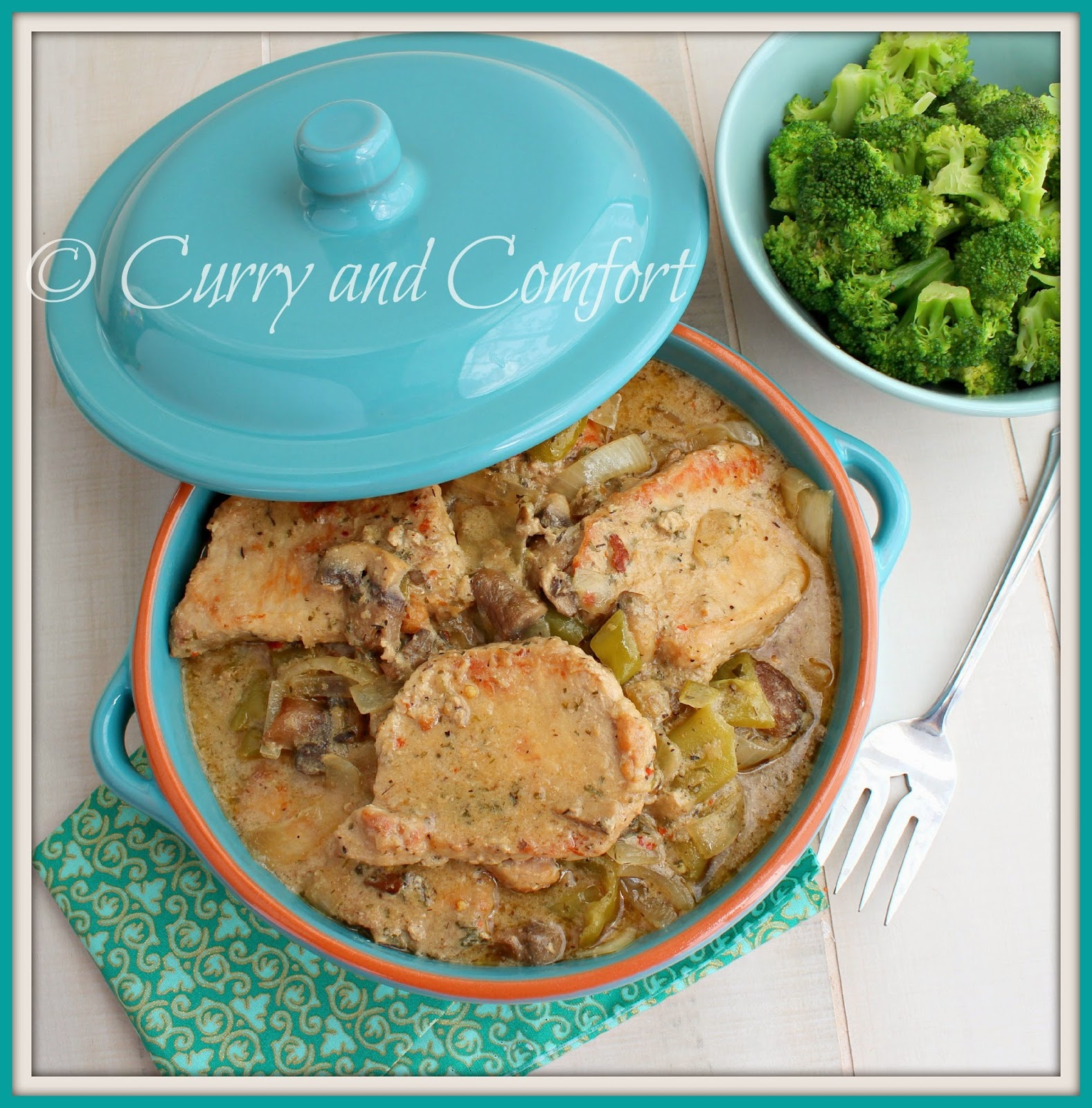 Kitchen Simmer: Smothered Pork Chops in Slow Cooker