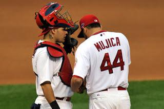 Edward Mujica et Yadier Molina