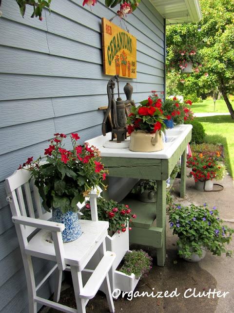 Potting Sink/Bench