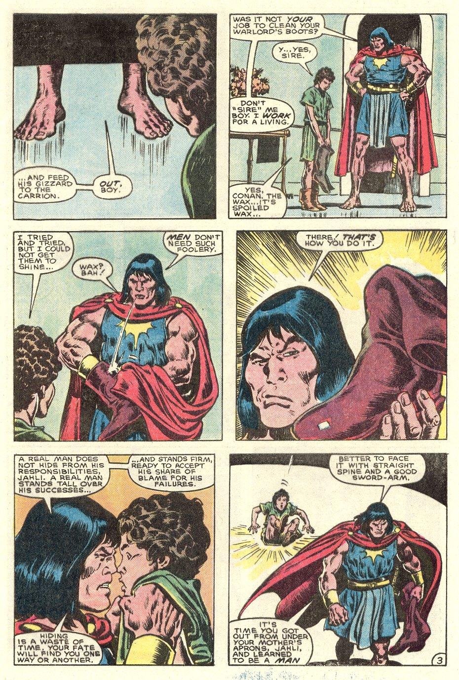 Conan the Barbarian (1970) Issue #182 #194 - English 4