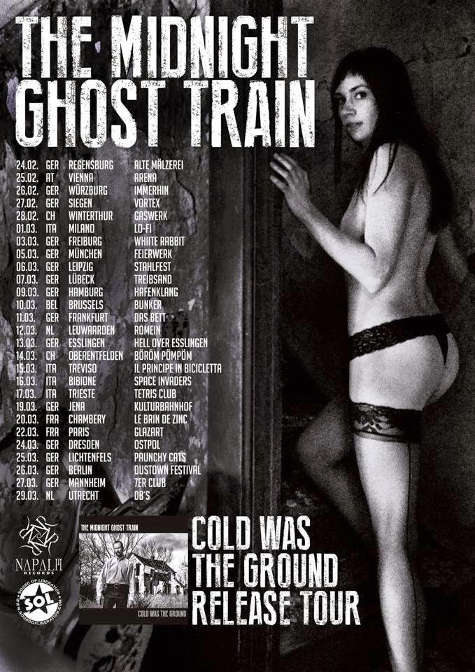 The Midnight Ghost Train - tour 2015 - europa