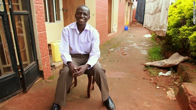 African hero, Andrew Mupuya who started a business with $14