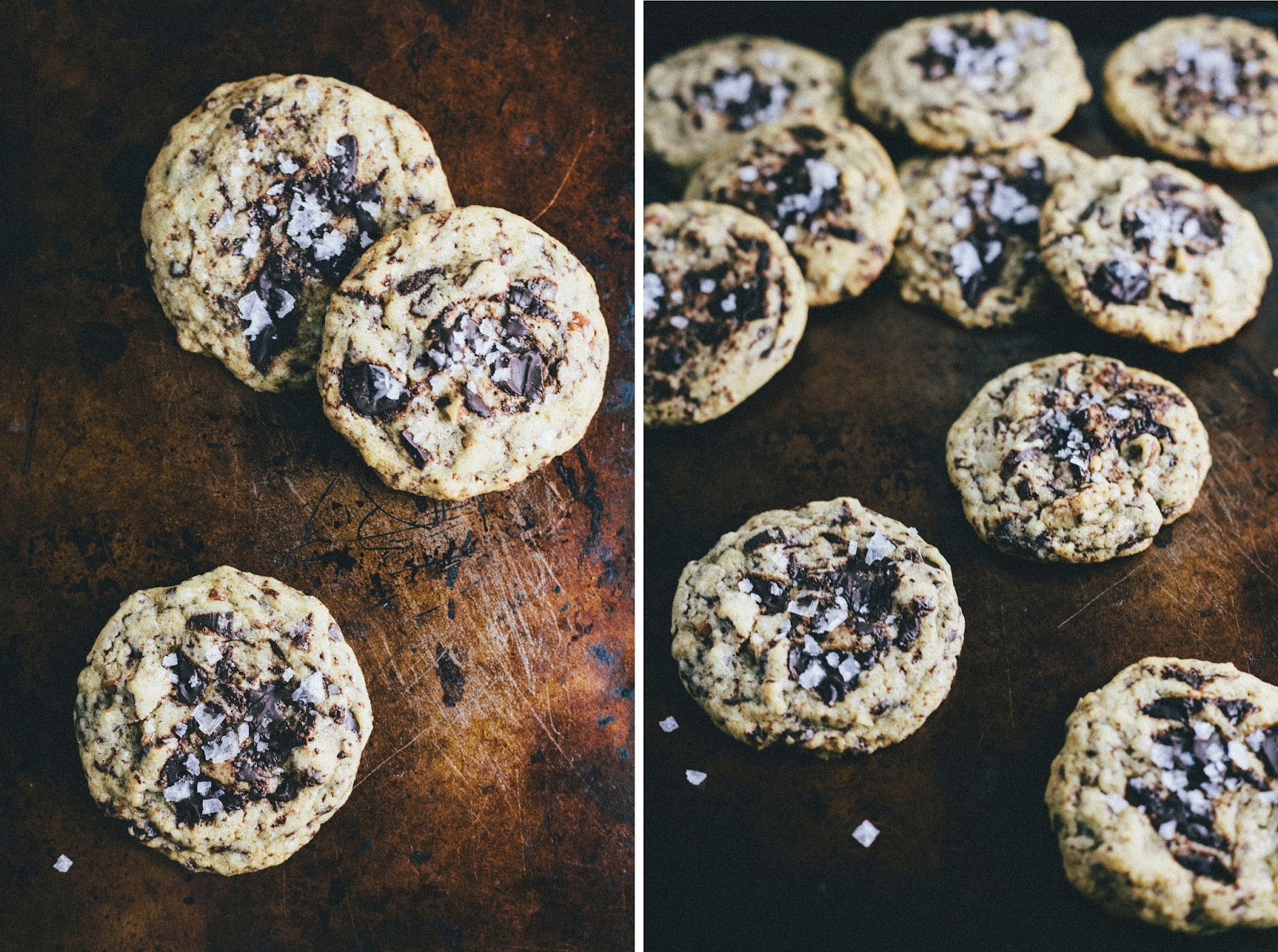 Brown Butter, Chocolate, Maple and Pecan Cookies
