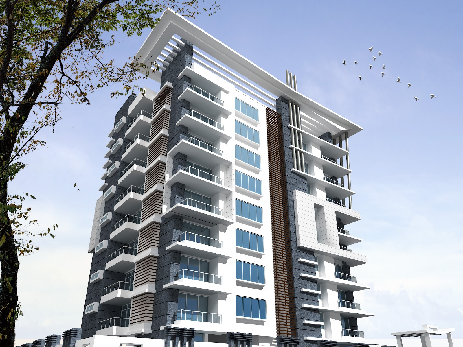 Our Recently Designed Project, Atlantis, Super Luxury Residential Apartments  At Bhawani Singh Road, C Scheme, Jaipur.