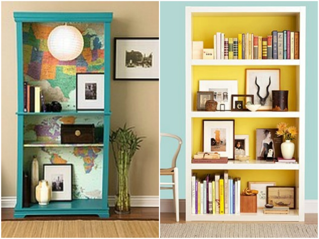Bookshelves Ideas Fair With Bookshelf Paint Ideas Images