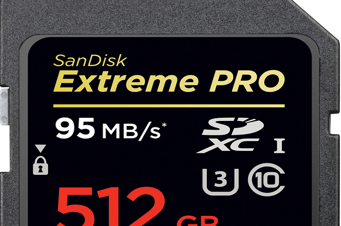 SanDisk's 512GB SD Card is the Biggest in the World
