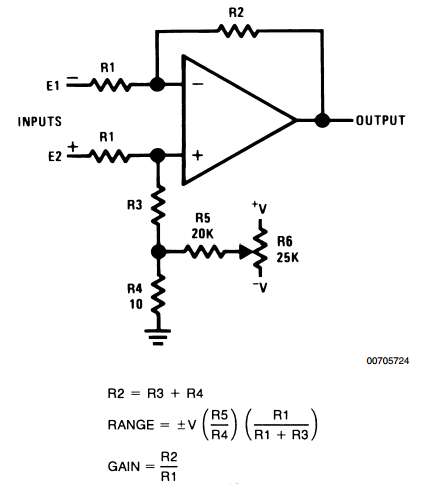 LM101 on integrator amplifier circuit diagram