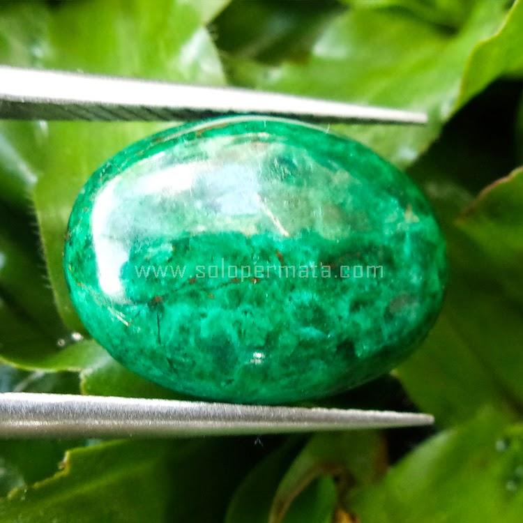 Batu Permata Bacan Chrysocola Peru - SP 489