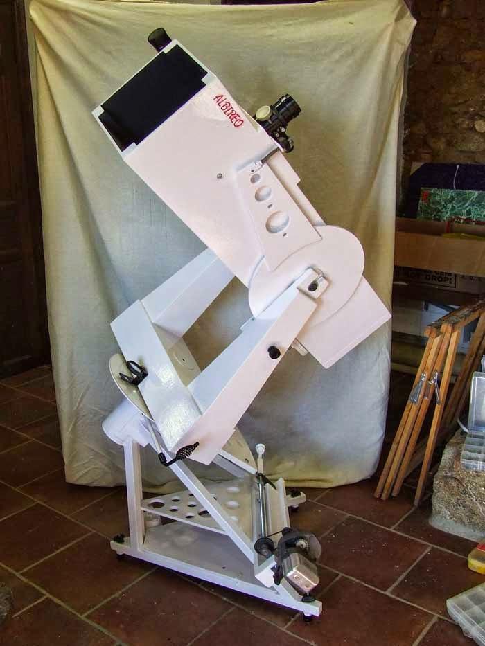 télescope en bois