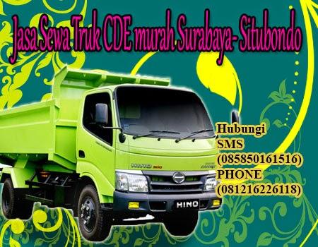 Jasa Sewa Truk CDE murah Surabaya- Situbondo
