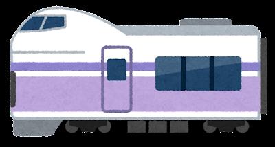 特急あずさ・スーパーあずさのイラスト(E351系)