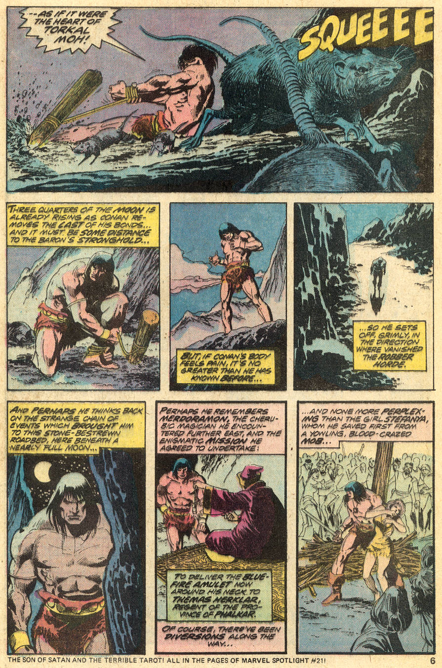 Conan the Barbarian (1970) Issue #49 #61 - English 5