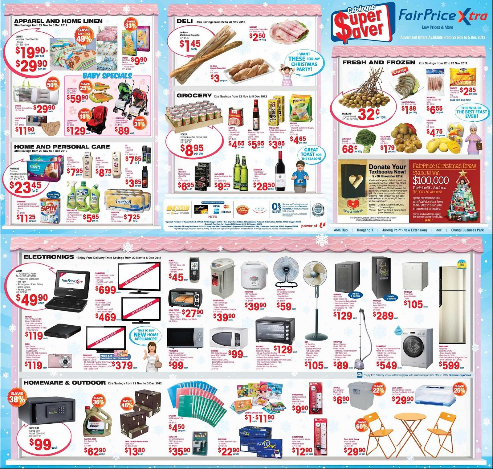SG Sales Deals Freebies: Fair Price Xtra Promotion 22 Nov to 5 Dec ...