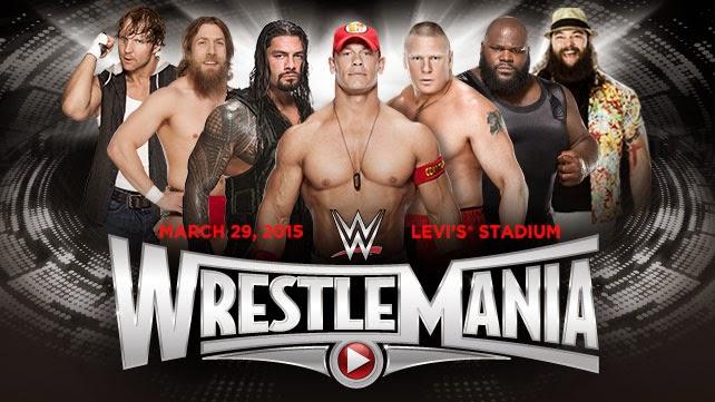 Ver WWE 2015 en VIVO