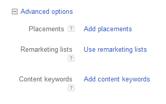 remarking lists and content words option window