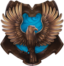 Orgullosa de ser Ravenclaw